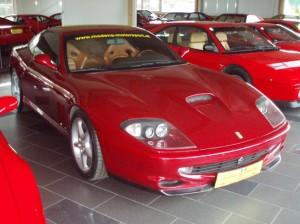 Modena Motorsport Ferrari 550 Maranello