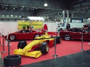 Modena Motorsport Ferrari Formel 1 auf Automesse
