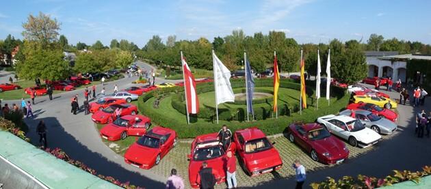 Modena Motorsport Ferrari Ausfahrt