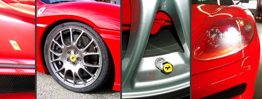 Verkauf, Service und Racing von Ferrari